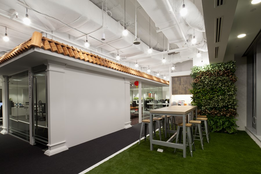 Booking.com's Singapore office by ONG&ONG group 09