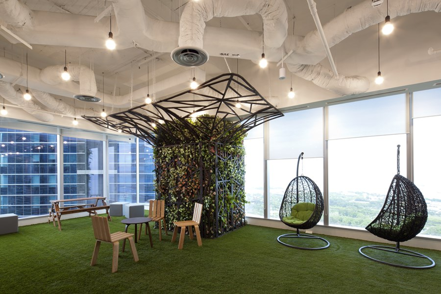 Booking.com's Singapore office by ONG&ONG group 11