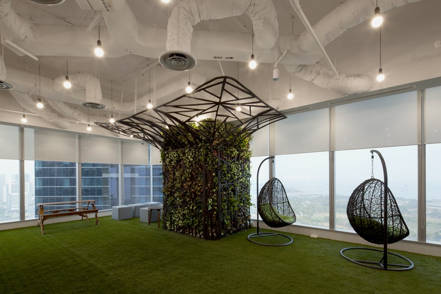 Booking.com's Singapore office by ONG&ONG group 13