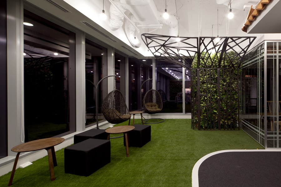 Booking.com's Singapore office by ONG&ONG group 14