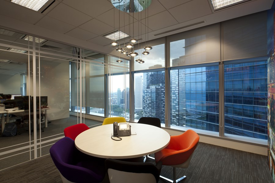 Booking.com's Singapore office by ONG&ONG group 17