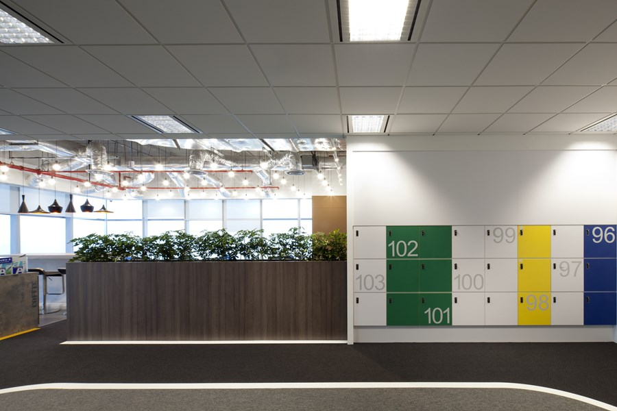 Booking.com's Singapore office by ONG&ONG group 19