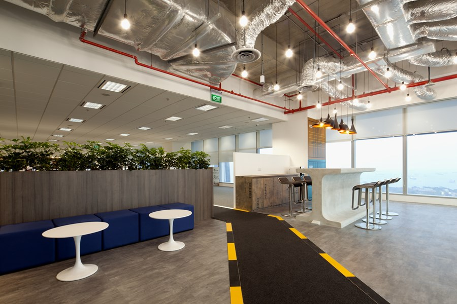 Booking.com's Singapore office by ONG&ONG group 21