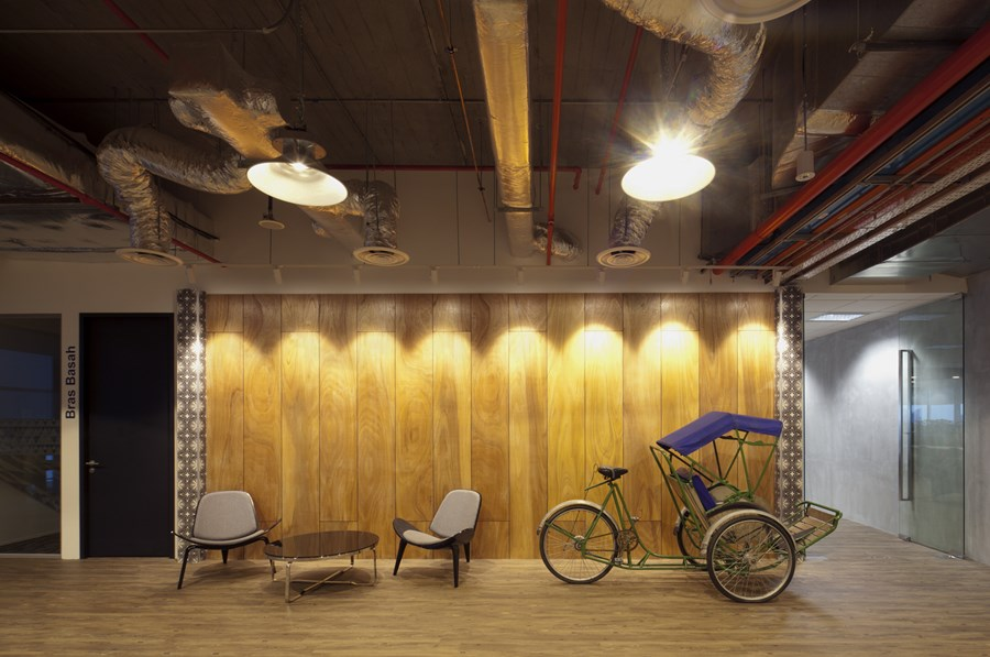 Booking.com's Singapore office by ONG&ONG group 22