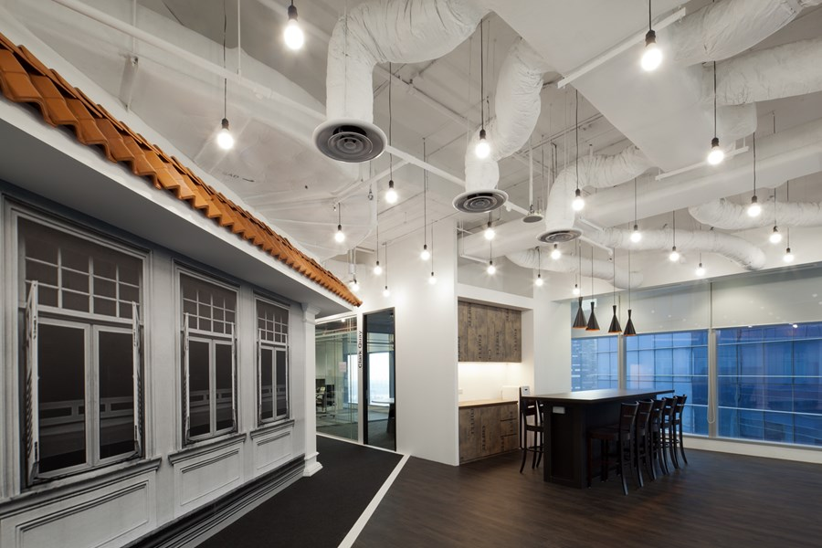 Booking.com's Singapore office by ONG&ONG group 23