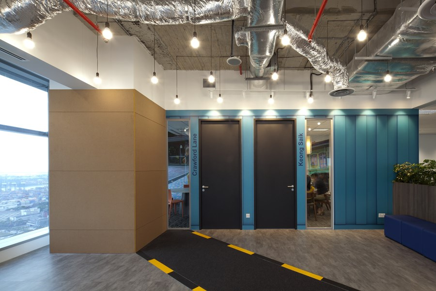 Booking.com's Singapore office by ONG&ONG group 24