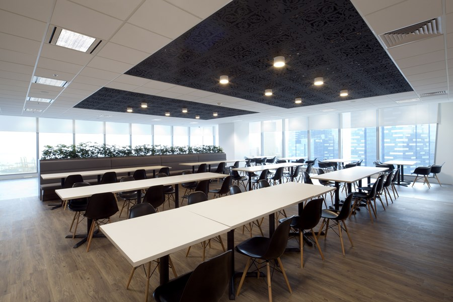 Booking.com's Singapore office by ONG&ONG group 25