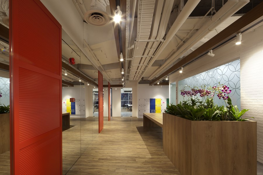 Booking.com's Singapore office by ONG&ONG group 29