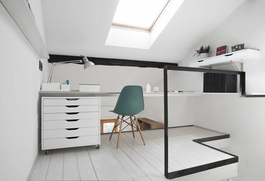 CPR attic refurbishment and extension by Piùerre 03