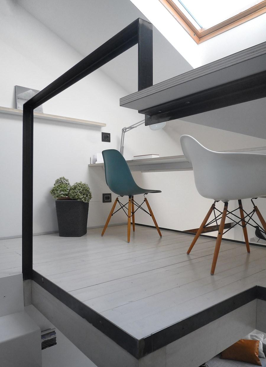 CPR attic refurbishment and extension by Piùerre 05