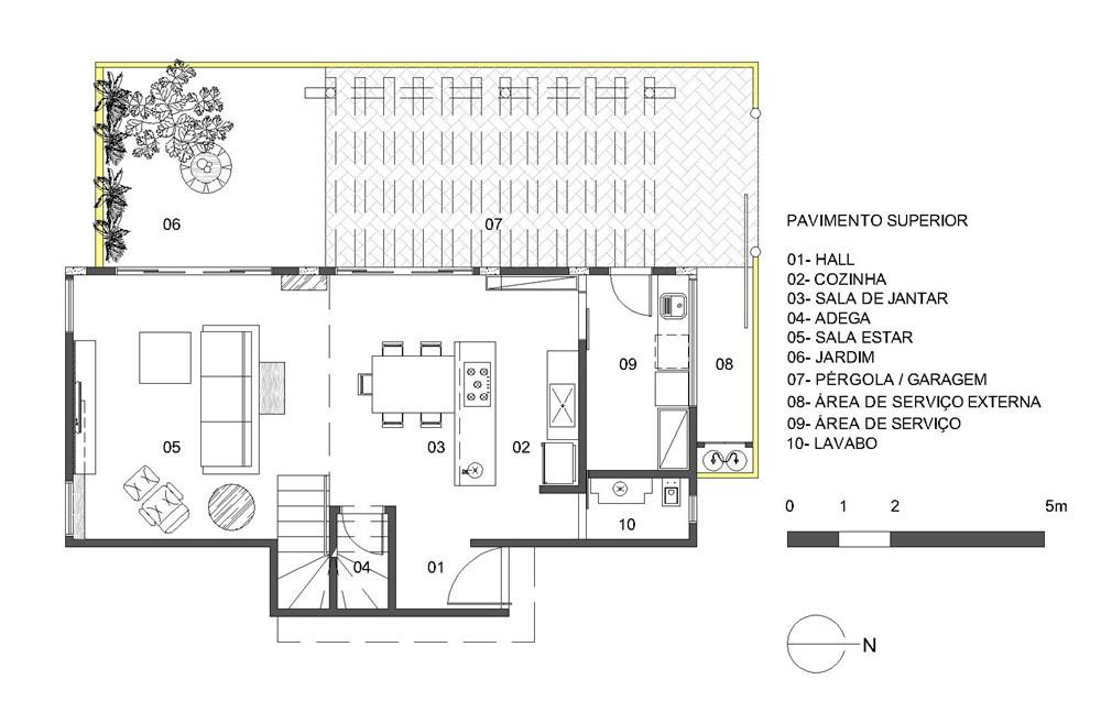 Cobogó House by Ney Lima Architect 14