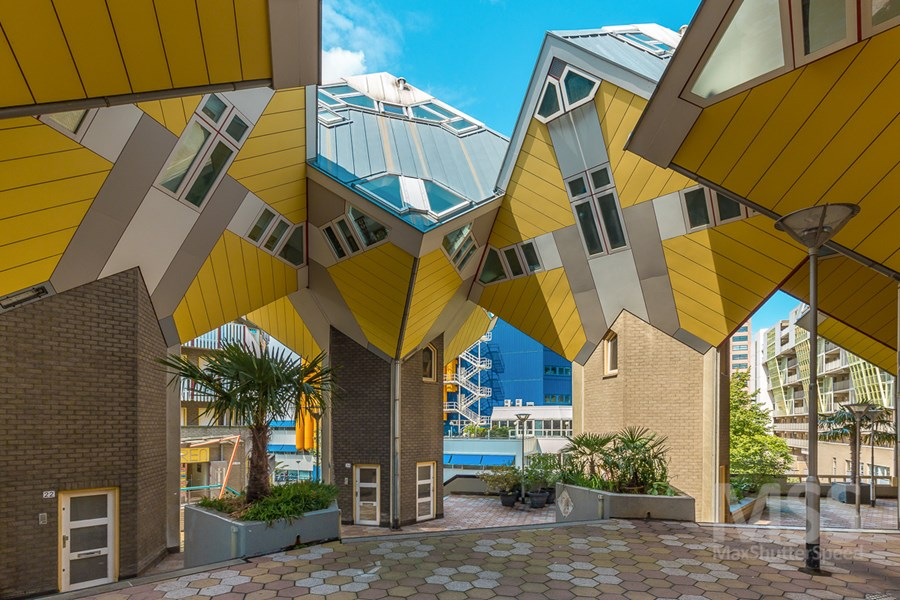 Cube houses in Rotterdam by MaxShutterSpeed 01