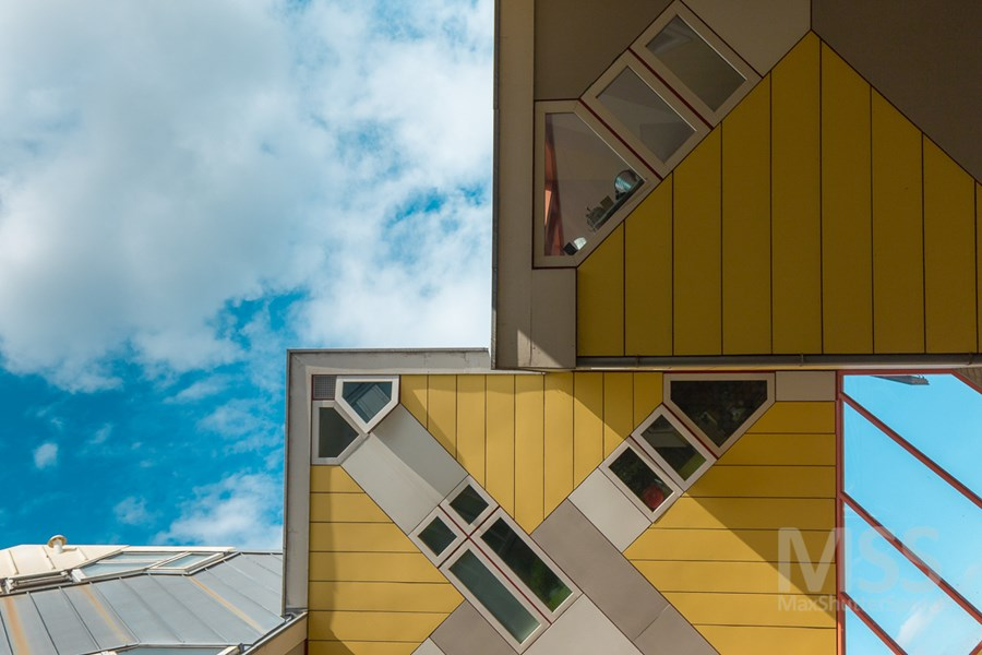 Cube houses in Rotterdam by MaxShutterSpeed 11