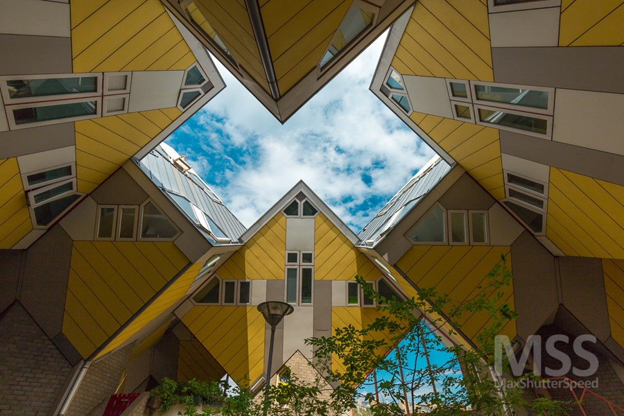Cube houses in Rotterdam by MaxShutterSpeed 12