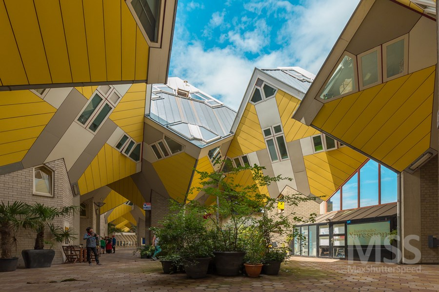 Cube houses in Rotterdam by MaxShutterSpeed 13