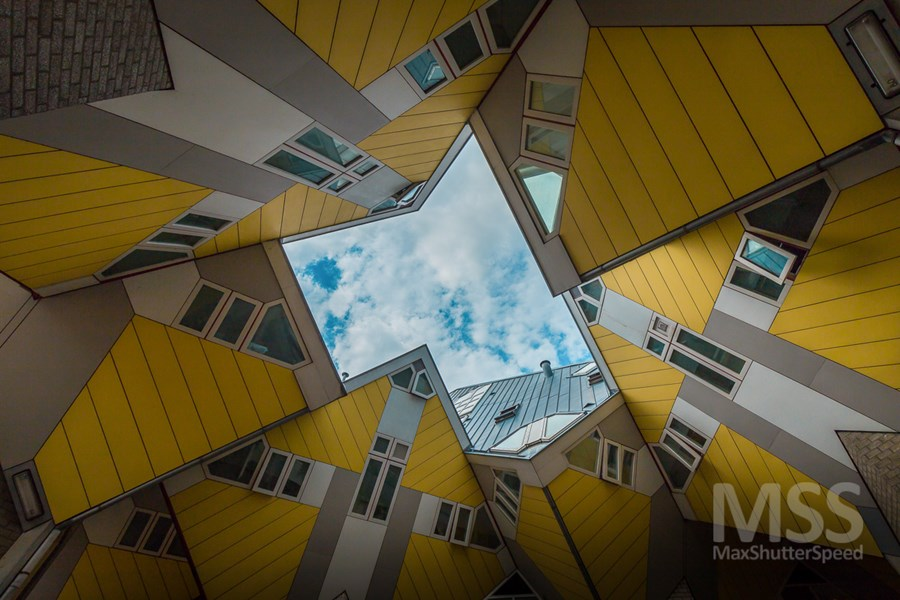 Cube houses in Rotterdam by MaxShutterSpeed 14
