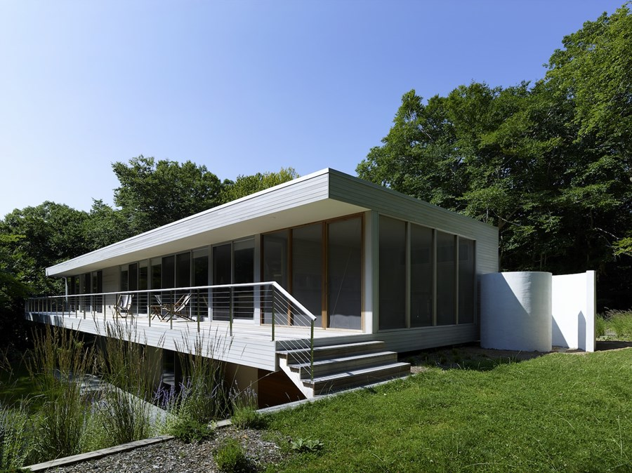 Green Woods House by Stelle Lomont Rouhani Architects 03