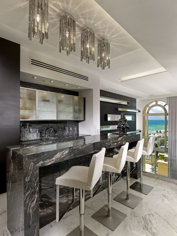 Hollywood Beach house by Pepe Calderin Design 04