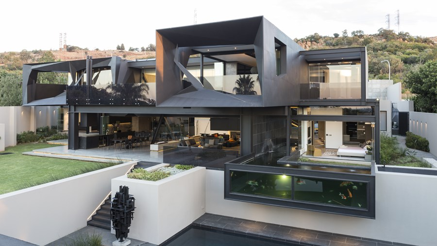 Kloof Road House by Nico van der Meulen Architects 02