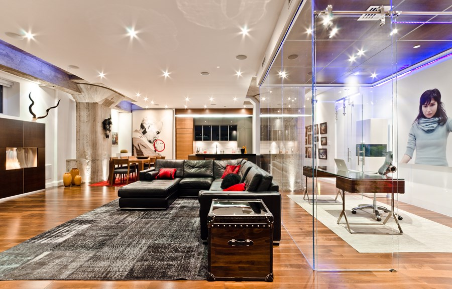 Loft Old Montreal By ActDesign 01