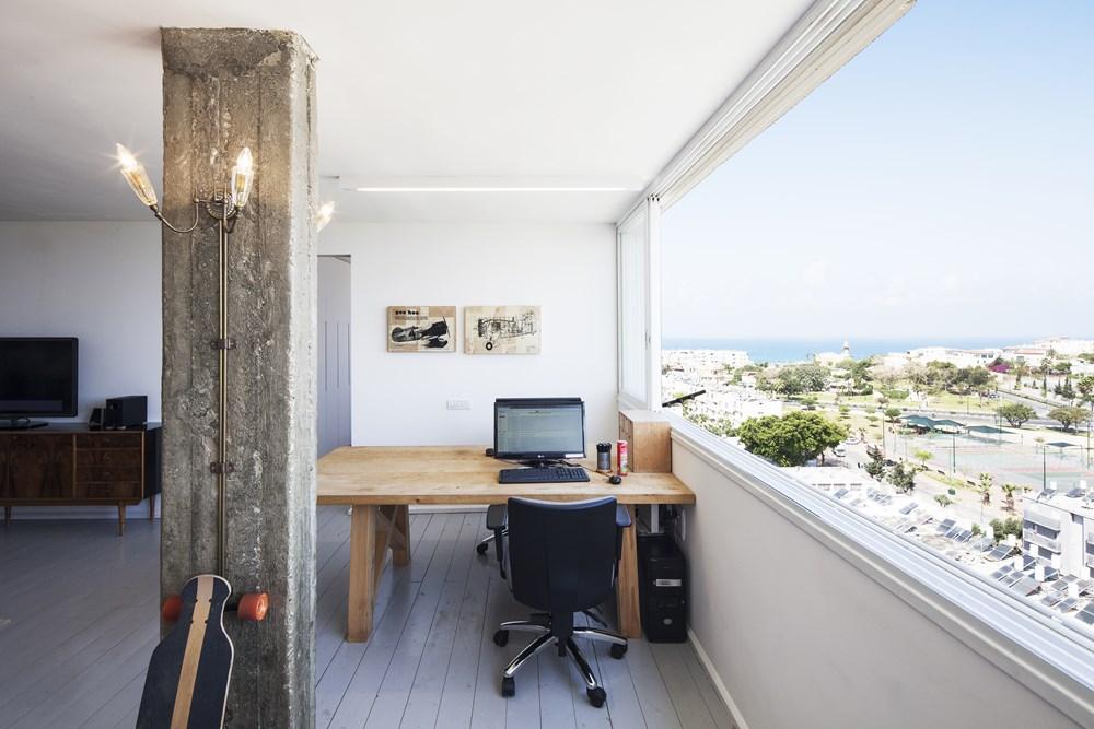 Loft above Jaffa by Henkin Shavit Architecture & Design 04