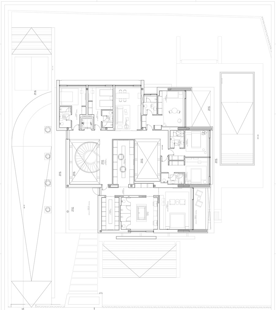 Park House by  A-cero 28