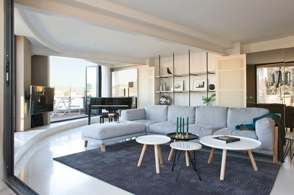 Paseo de Gràcia Penthouse by Colombo and Serboli Architecture 01