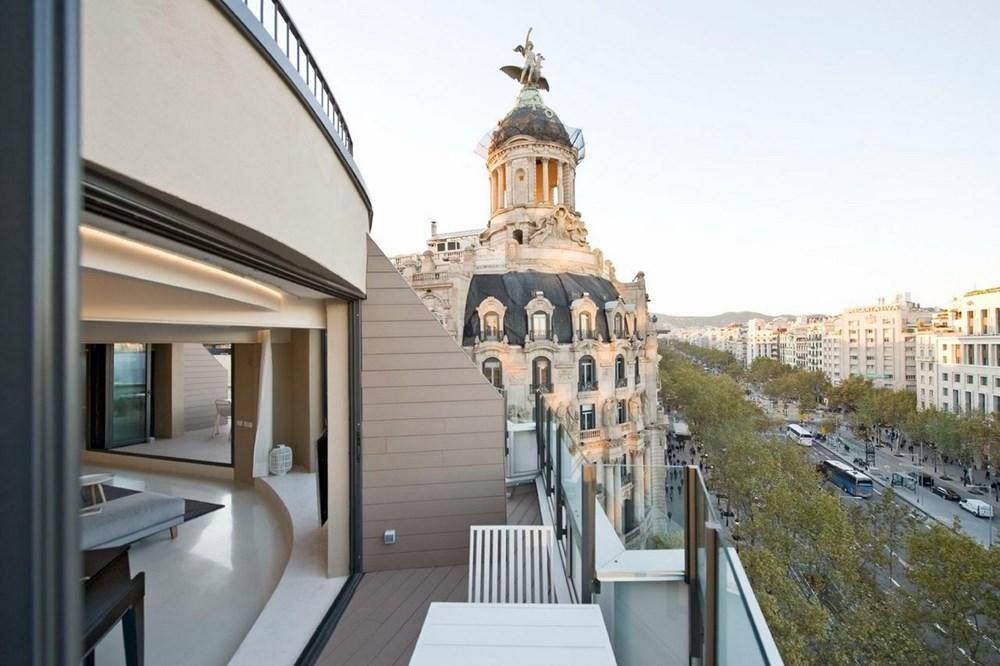Paseo de Gràcia Penthouse by Colombo and Serboli Architecture 14
