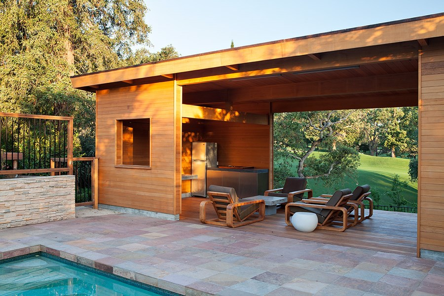 Pool House by Klopf Architecture 02