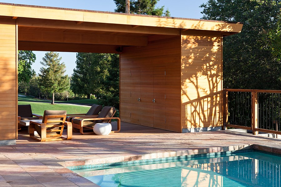 Pool House by Klopf Architecture 03