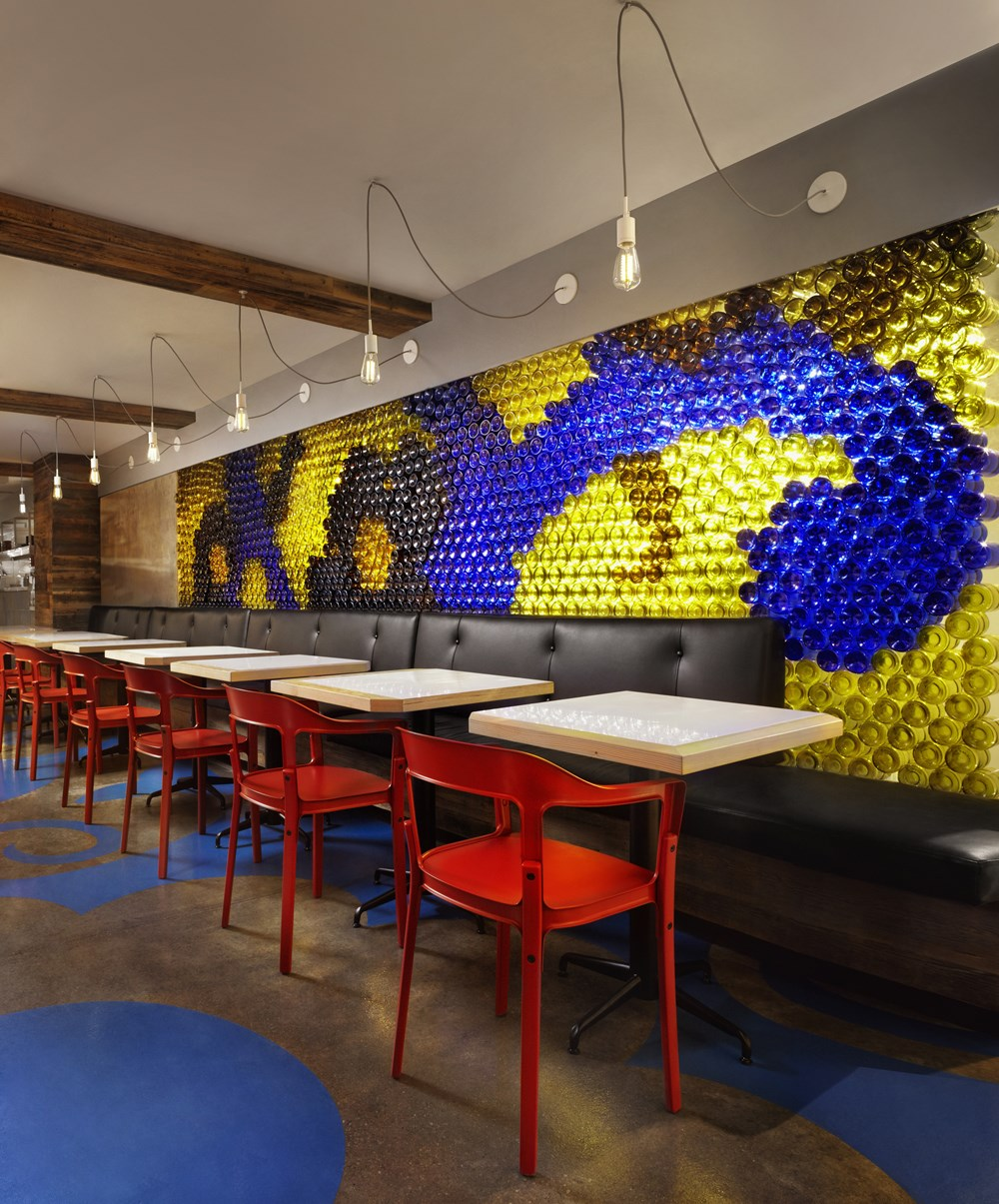Refin tiles Perfect Accent for Gaudi-inspired Restaurant 06