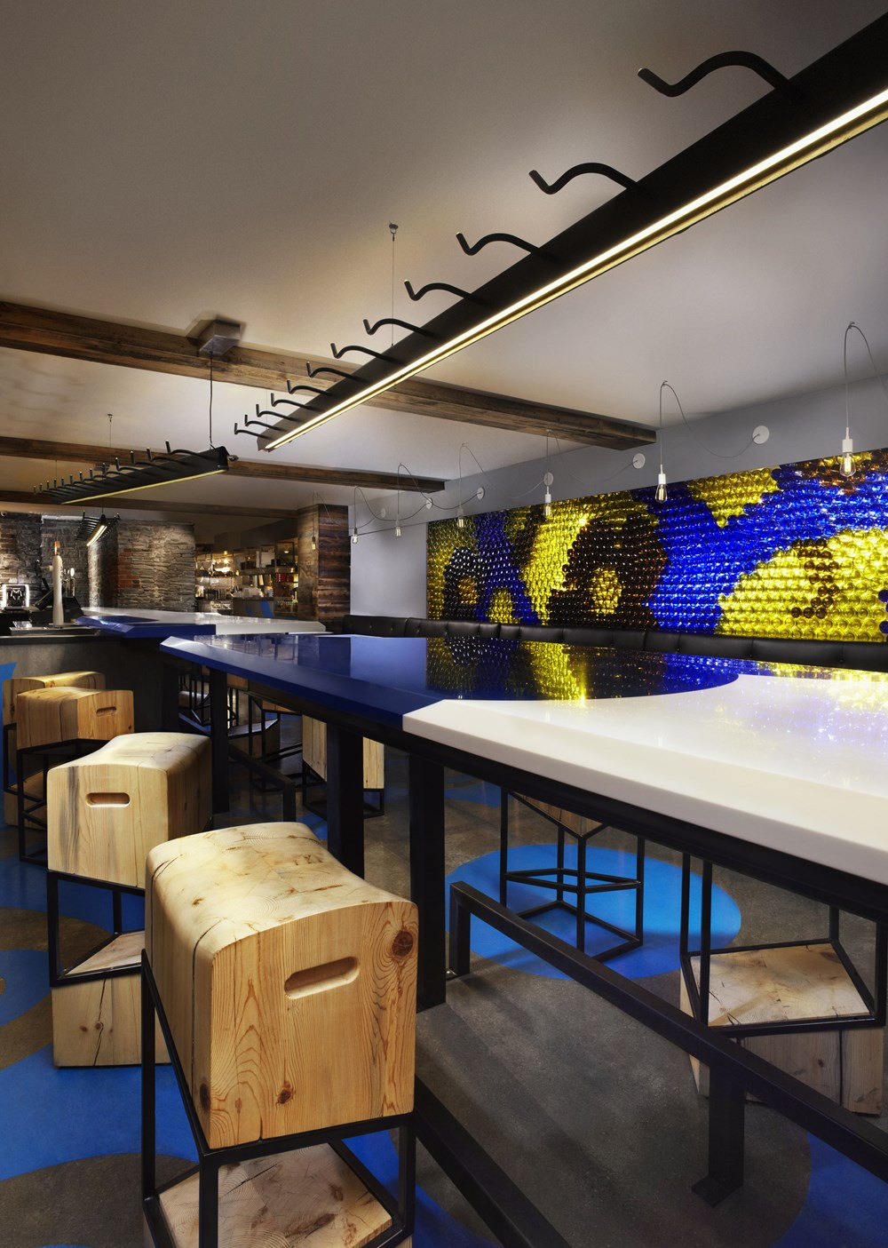 Refin tiles Perfect Accent for Gaudi-inspired Restaurant 07