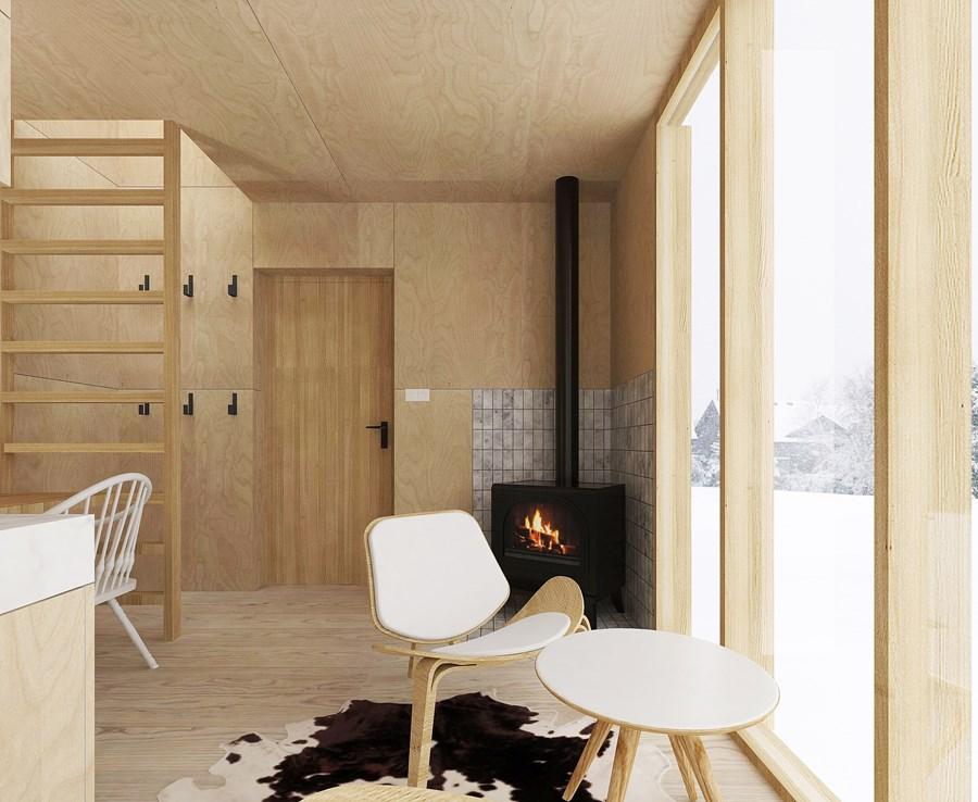 Ski Hut by Fo4a architecture - MyHouseIdea