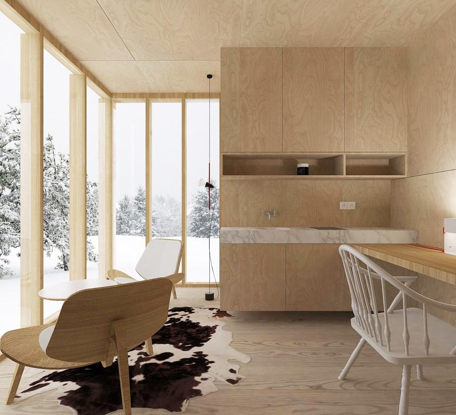 Ski Hut by Fo4a architecture 04