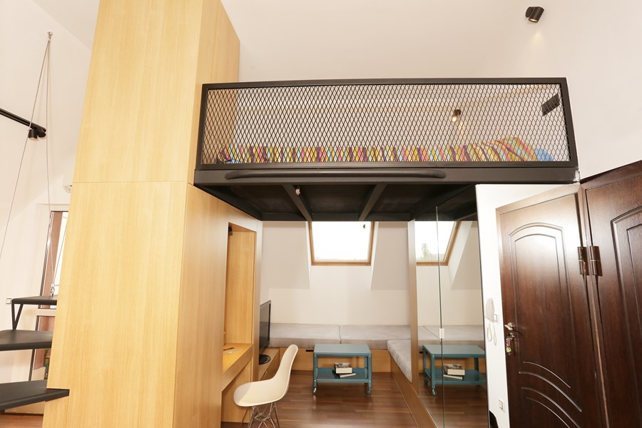Small apartment by Edo Design Studio 03