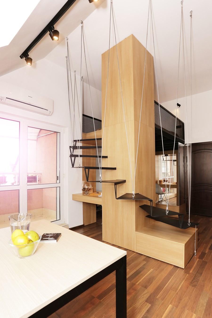 Small apartment by Edo Design Studio 05