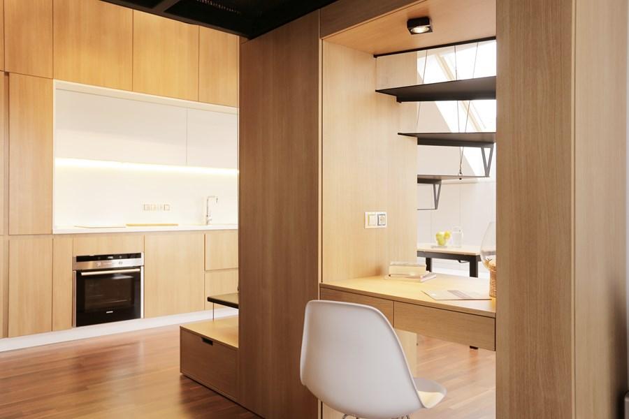 Small apartment by Edo Design Studio 12