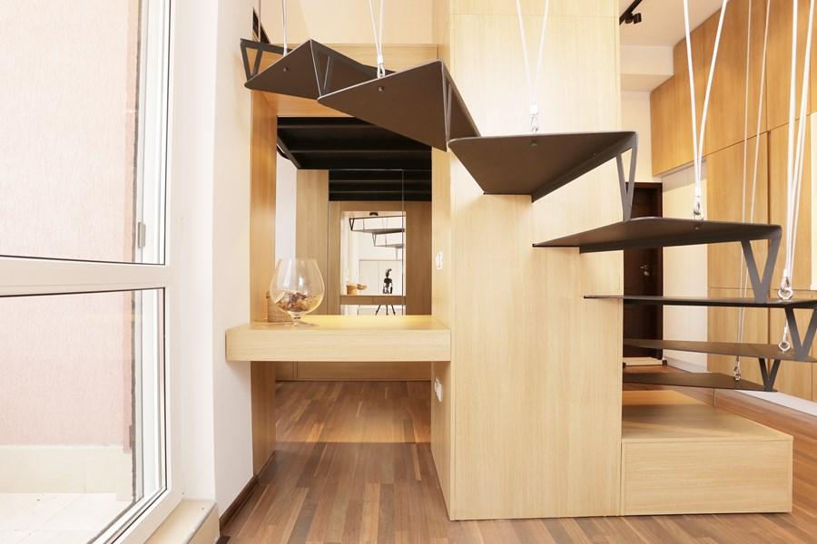Small apartment by Edo Design Studio 18
