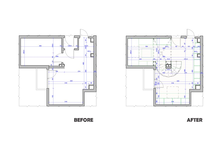 Small apartment by Edo Design Studio 23