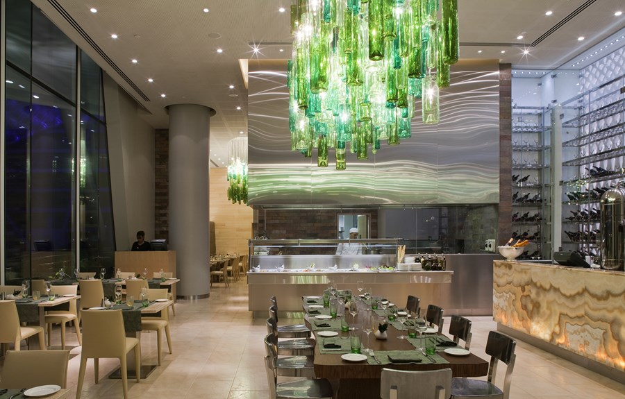 The Yas Hotel, Abu Dhabi Jestico + Whiles 01
