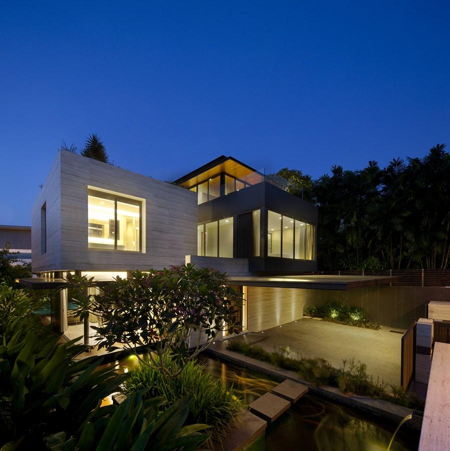 Travertine Dream House by Wallflower Architecture + Design 16 ...