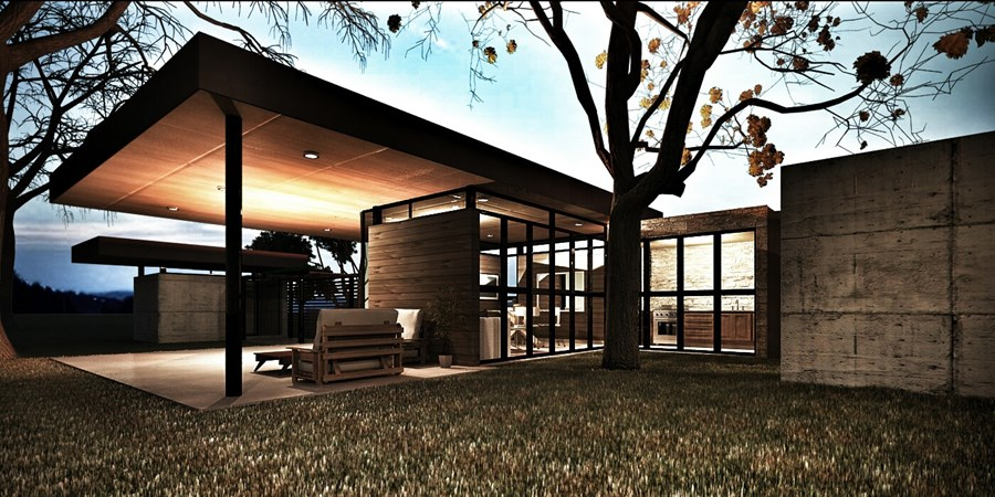 Veterinary House by Dardo Molina 01