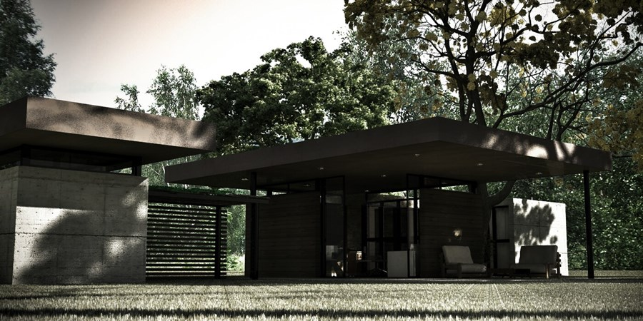 Veterinary House by Dardo Molina 02