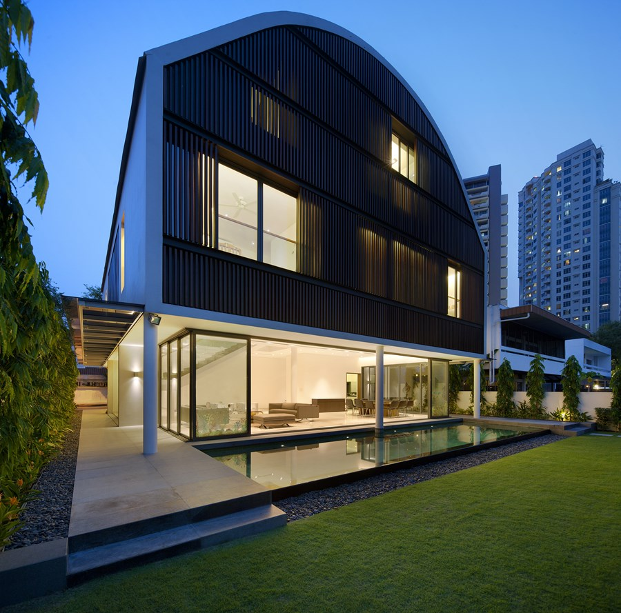 Wind Vault House by Wallflower Architecture + Design 02