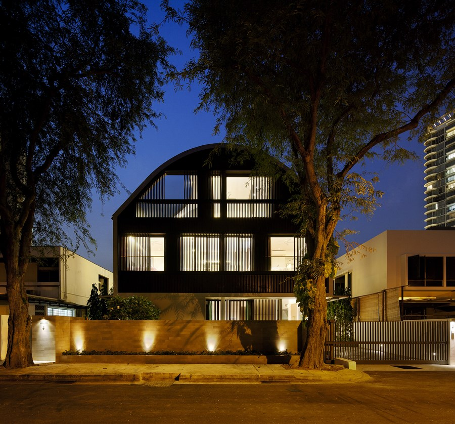 Wind Vault House by Wallflower Architecture + Design 27
