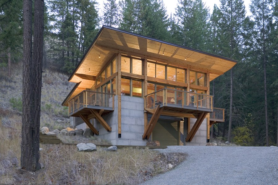 Wintergreen Cabin by Balance Associates 01