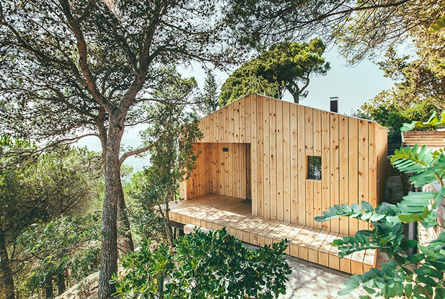 Wood Studio House by Dom Arquitectura 08