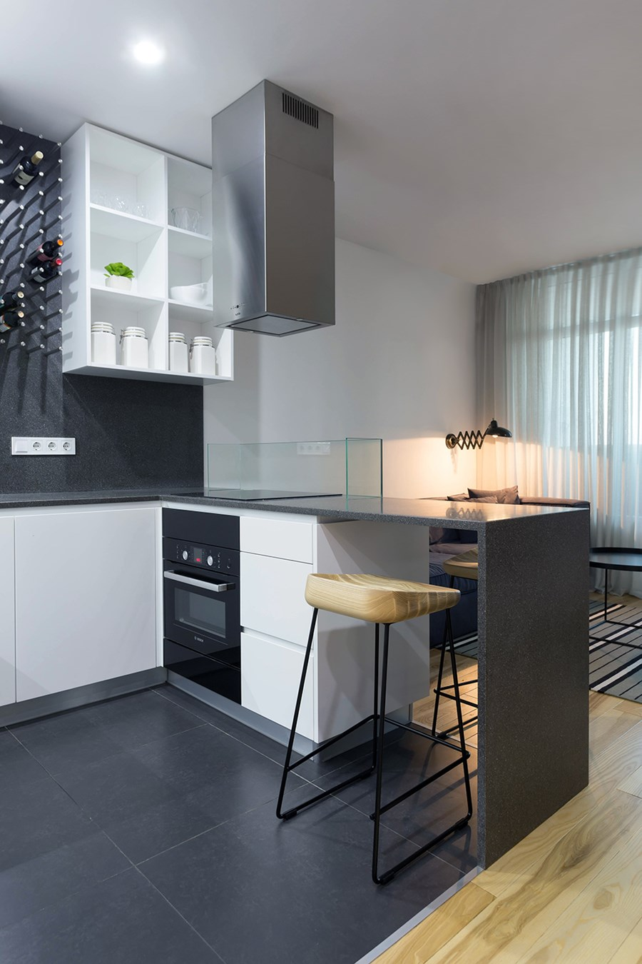 Apartment with a deer by Lugerin Architects 05