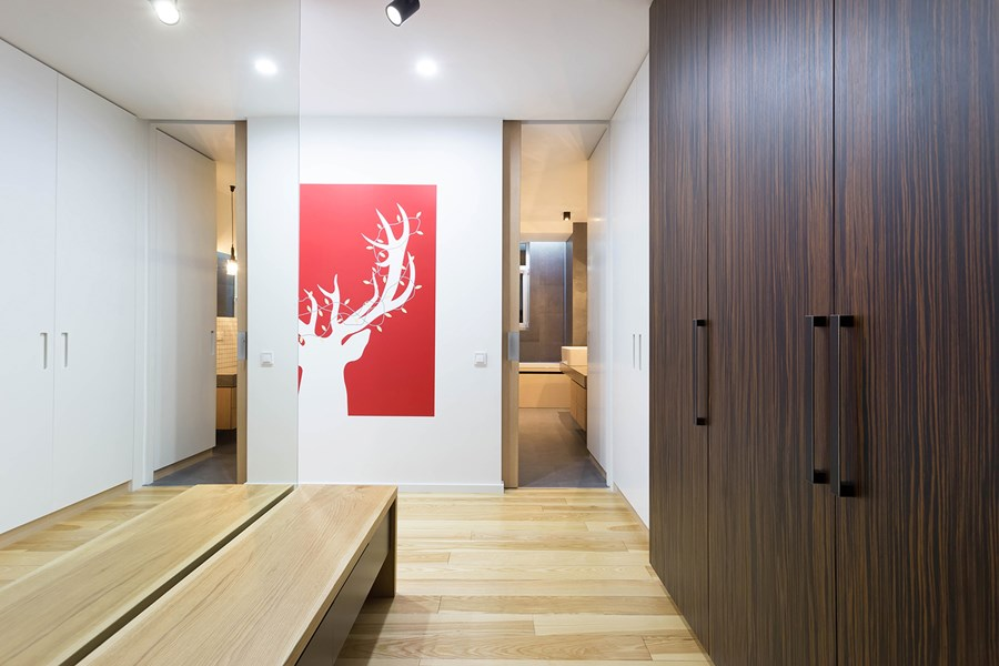 Apartment with a deer by Lugerin Architects 08
