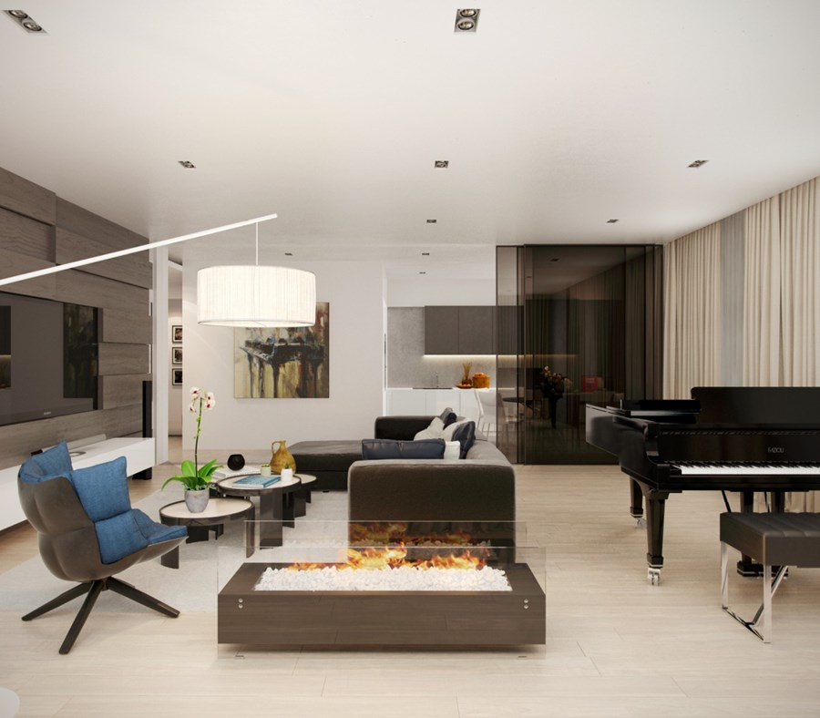 Apartment for musician by Alexandra Fedorova 04
